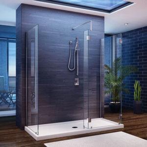 Jak urządzić prysznic typu walk-in?